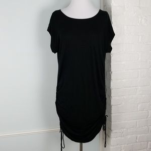NY&Co stretch ruched tee dress